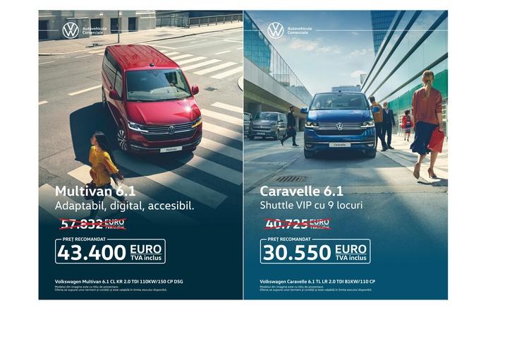 Lichidare de stoc Multivan și Caravelle