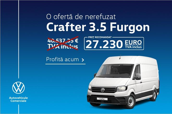 O oferta de nerefuzat Crafter 3.5 Furgon