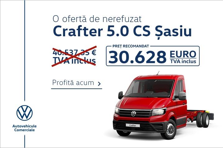 Ofertă specială Crafter 5.0 CS Șasiu