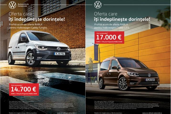 Programul Rabla 2020 Volkswagen Autovehicule Comerciale